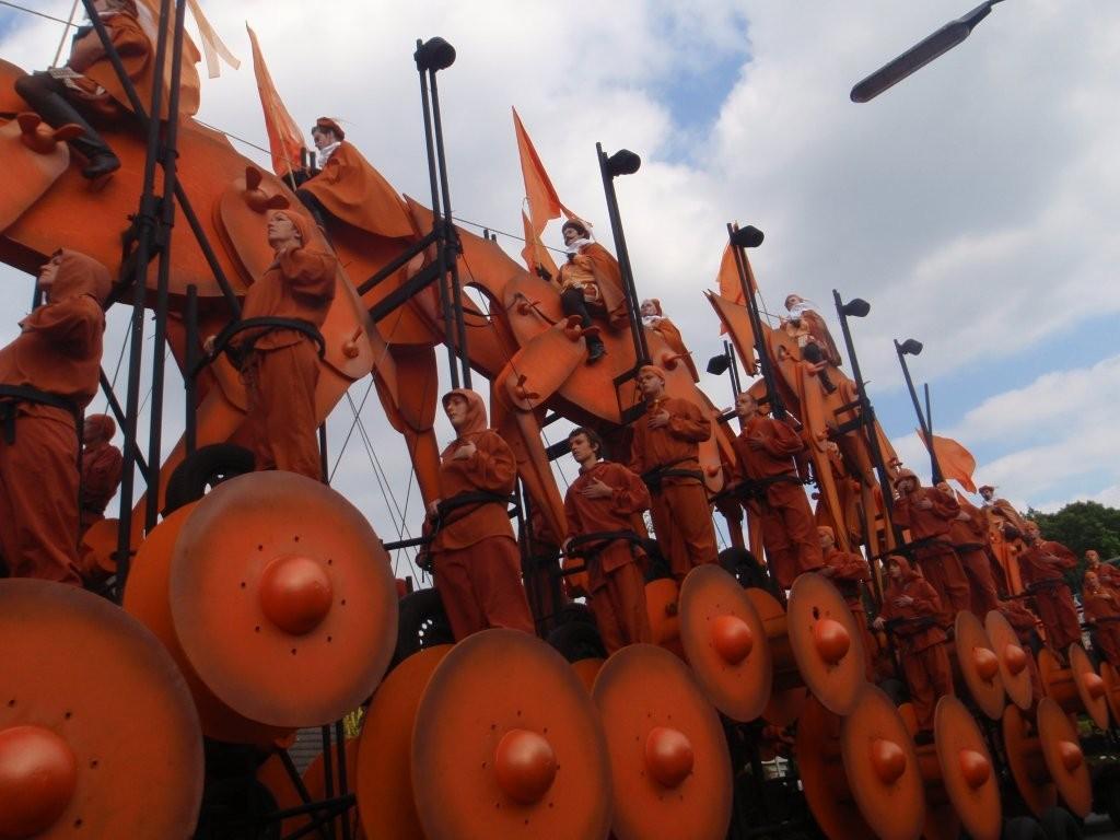 Wagen Triomfantelijke intocht Willem van Oranje