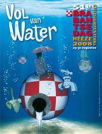 Poster Vol van Water