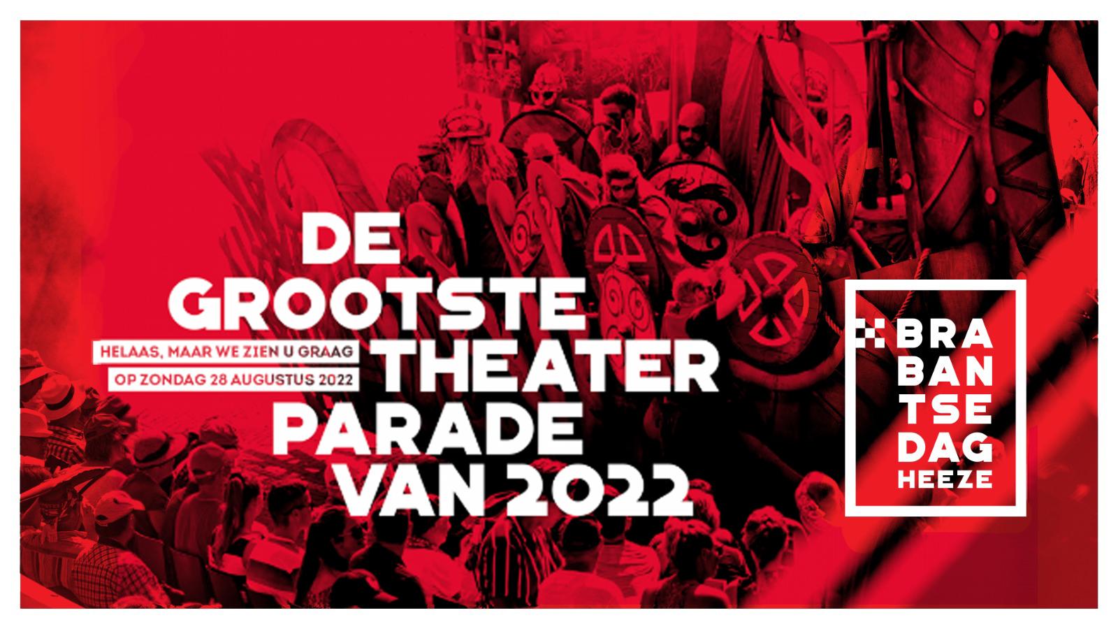 63ste Brabantsedag Heeze verplaatst naar 2022